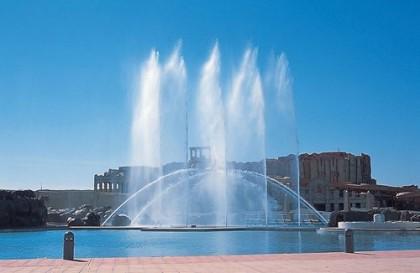 ラグーナ 噴水ショー