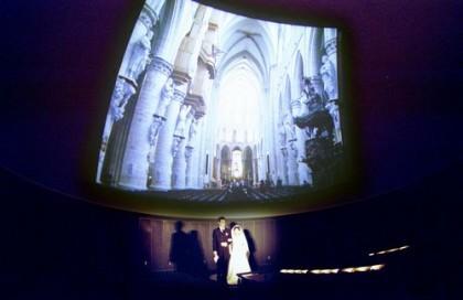 プラネタリウム結婚式 ジオスペース