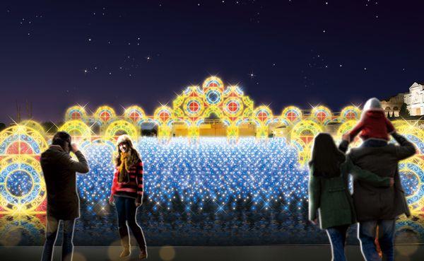ラグーナテンボス 光の宮殿
