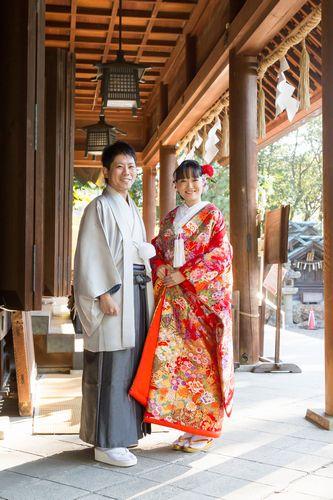 山本様・老平様 安久美神戸神明社