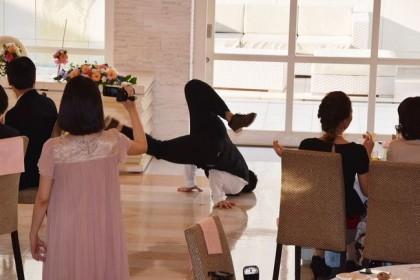 フラッシュモブ結婚式