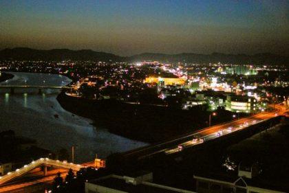 こすたりかシティガーデン夜景